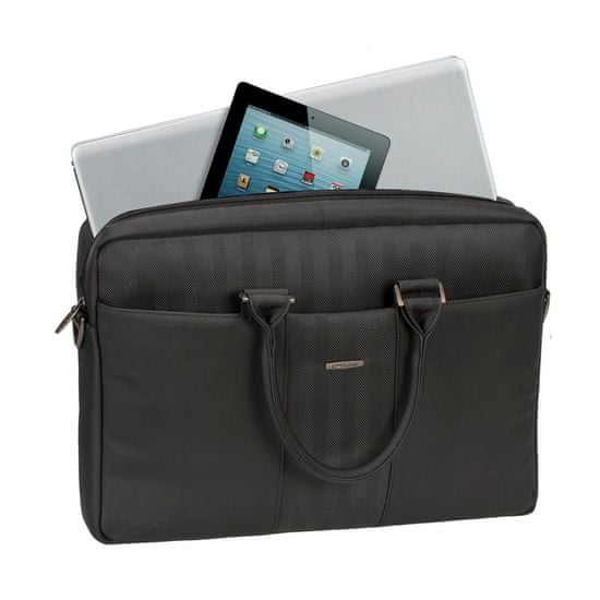 """RivaCase torba za prenosnike Business 8135, 39,6 cm (15,6""""), črna"""