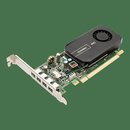 PNY grafična kartica NVS 510 2GB GDDR3 PCIe x16,4x DP, Low Profile