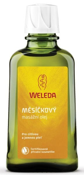 Weleda Měsíčkový masážní olej 100 ml