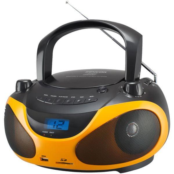Sencor SPT 228 BO, černá/oranžová