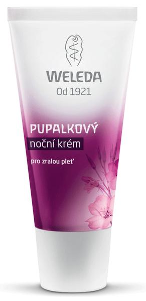 Weleda Pupalkový noční krém pro zralou pleť 30 ml