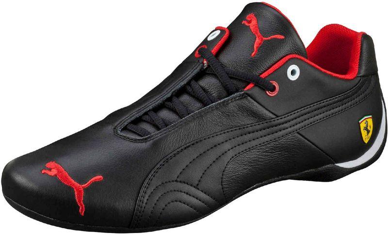 Puma Future Cat Leather SF - Black-Black 42