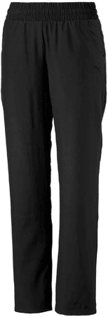 Puma spodnie sportowe Ess Woven Pants Op W Black S