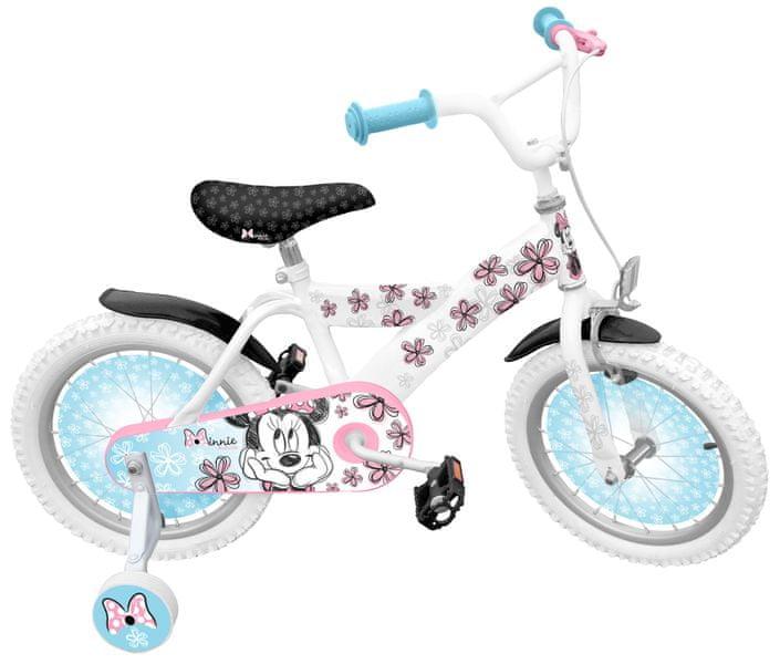 Stamp Jízdní kolo 16´´ s postranními kolečky Minnie