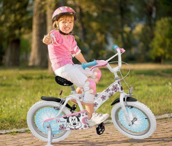 Stamp Jízdní kolo 16´´ s postranními kolečky Minnie Exclusive