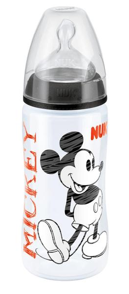 Nuk Láhev Disney Mickey 300ml, šedá