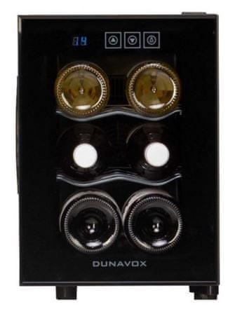 Dunavox vinska vitrina DAT-6.16C