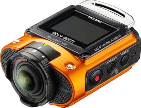 Ricoh športna kamera WG-M2, oranžna