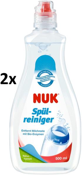 Nuk Mycí prostředek na láhve a savičky 2 x 500 ml
