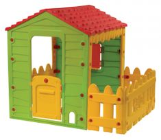 Buddy Toys Domček Farm s plotom