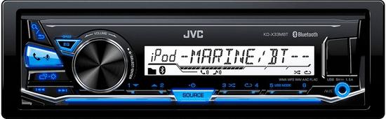 JVC radio samochodowe KD-X33MBT
