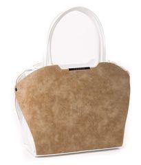 GROSSO BAG torebka damska beżowy