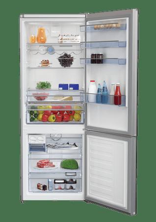 Beko kombinirani hladilnik CNE520EE0ZGB