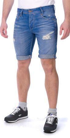 Pepe Jeans moške kratke hlače Hayes Short 33 modra