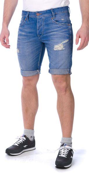Pepe Jeans pánské kraťasy Hayes Short 34 modrá