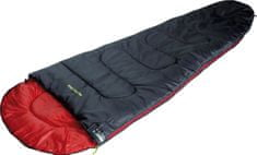 High Peak spalna vreča Action 250, sivo-rdeča