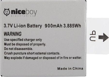 Niceboy Li-ion Vega+ Akkumulátor