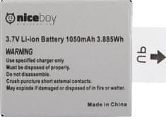 Niceboy Li-ion akumulátor pro kamery Vega 4K a Vega 5