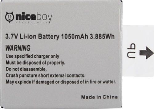 Niceboy Li-ion akumulátor pro kamery Vega 4K