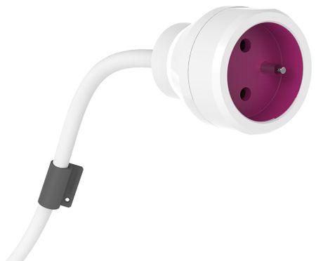 PowerCube PowerExtension, fialová, 5 m
