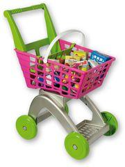 Androni Wózek na zakupy, różowy
