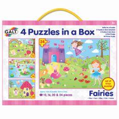 GALT 4 Puzzle v krabici - Víly
