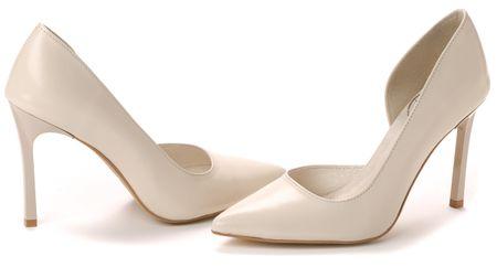 PAOLO GIANNI női magassarkú cipő 37 bézs