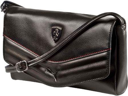 Puma torba Ferrari Ls Small Satchel, črna
