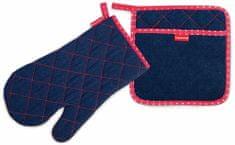 Tescoma Kuchyňská rukavice a chňapka PRESTO DENIM, pro ni