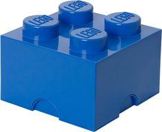 LEGO Úložný box 250x250x180 mm modrá