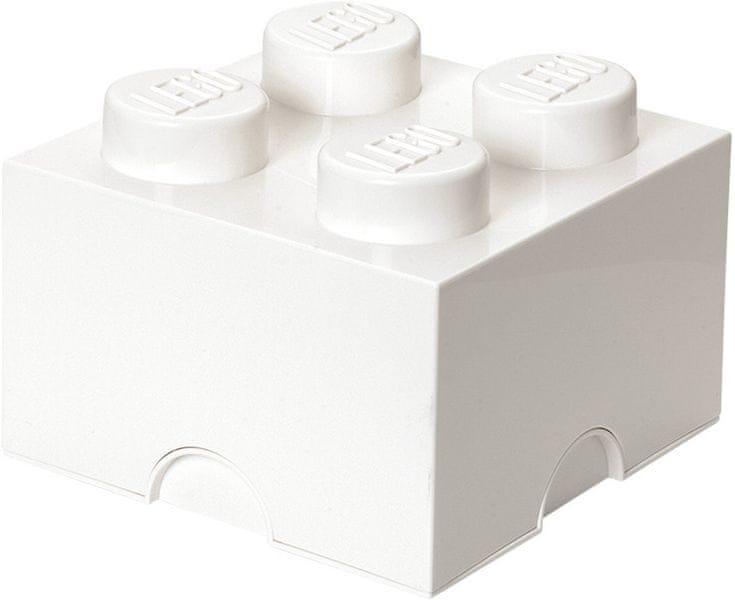 LEGO® Úložný box 250x250x180 mm bílá