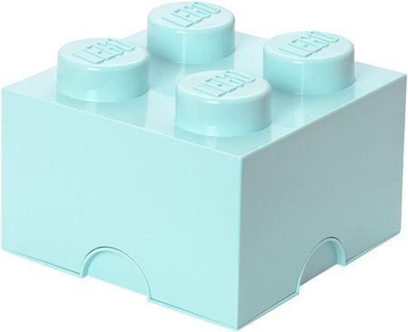 LEGO škatla za shranjevanje 25x25x18 cm, mornarsko modra