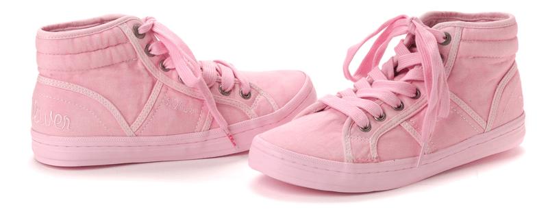 s.Oliver dámská kotníčková obuv 38 růžová