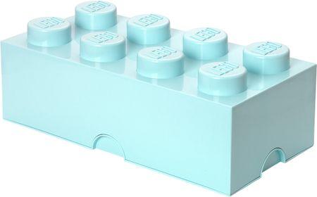 LEGO škatla za shranjevanje, 25x50 cm, svetlo modra