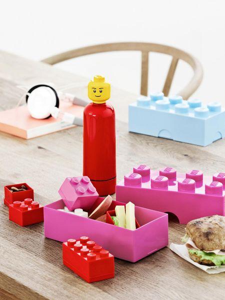LEGO® Box na svačinu 10 x 20 x 7,5 cm modrá