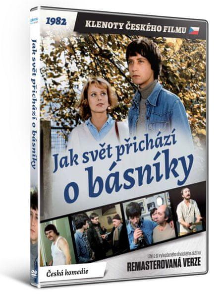 Jak svět přichází o básníky - edice KLENOTY ČESKÉHO FILMU (remasterovaná verze) - DVD