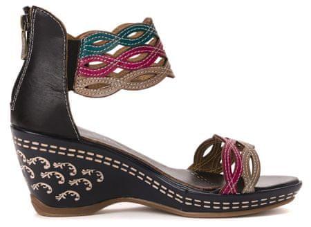 0a438a224275 Laura Vita dámské sandály Venise 41 tmavě modrá