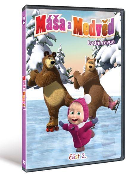 Máša a medvěd 2: Lední revue - DVD
