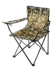 Happy Green krzesło wędkarskie CAMOUFLAGE