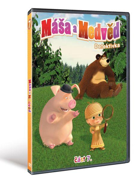 Máša a medvěd 7: Detektivka - DVD