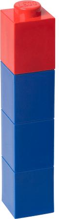 LEGO Láhev na pití čtvercová modrá