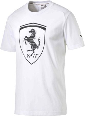 Puma Ferrari Big Shield Tee White XXL