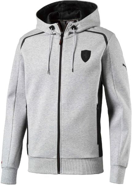 Puma Ferrari Hooded Sweat Jacket LightGray XL
