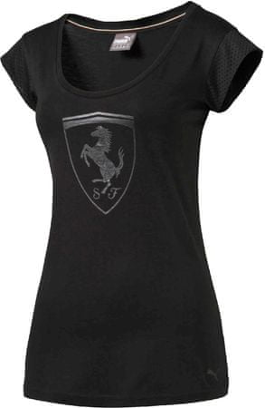 Puma koszulka damska Ferrari Big Shield Tee Moonless Night M