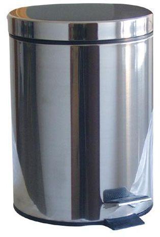 M.A.T Group Odpadkový koš nášlapný 3 l černý s vložkou