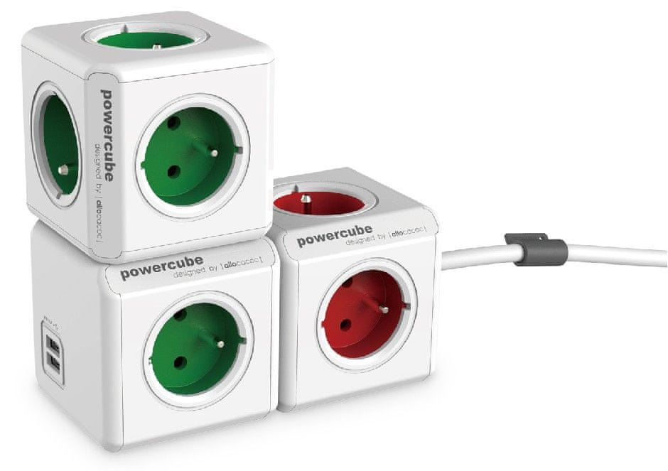 PowerCube Original USB, zelená