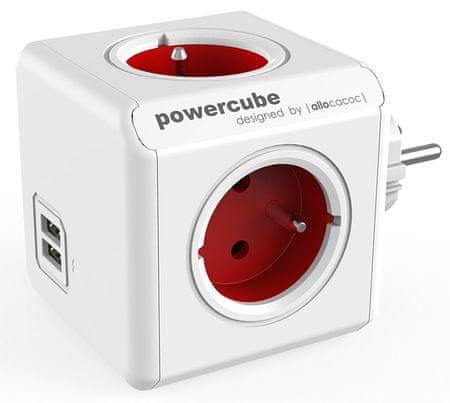 PowerCube Original USB, červená