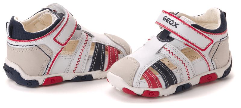 Geox chlapecké sandály 23 bílá