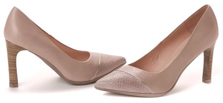 Hispanitas női magassarkú cipő 38 bézs