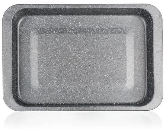 Banquet Plech hluboký GRANITE 36,5x27x4,5 cm